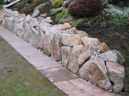 Mauern exclusivgarten dillmann gartengestaltung ilsfeld - Gartengestaltung mit mauern ...